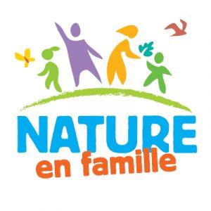 """logo du projet """"Nature en famille"""""""